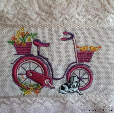 Вышиваем велосипед. Идеи со схемами (56) (434x429, 167Kb)