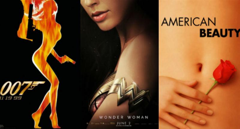 «Обезглавленные женщины Голливуда»: американка собирает сексистские плакаты к фильмам