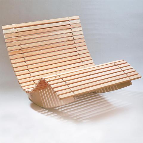 Фото конструкции - качалки из древесины