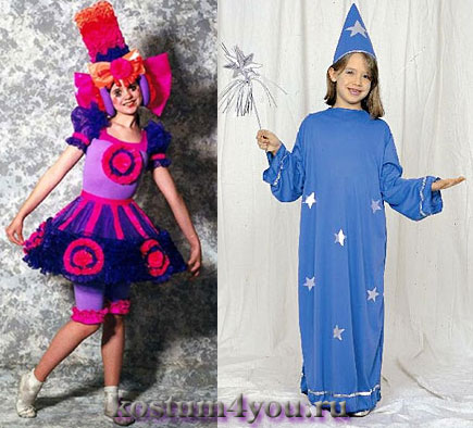 Необычные карнавальные костюмы своими руками