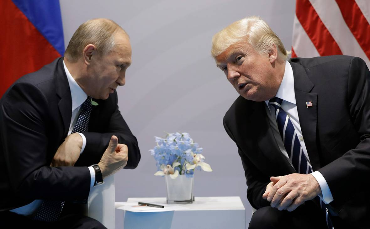 Встреча Путина и Трампа под …