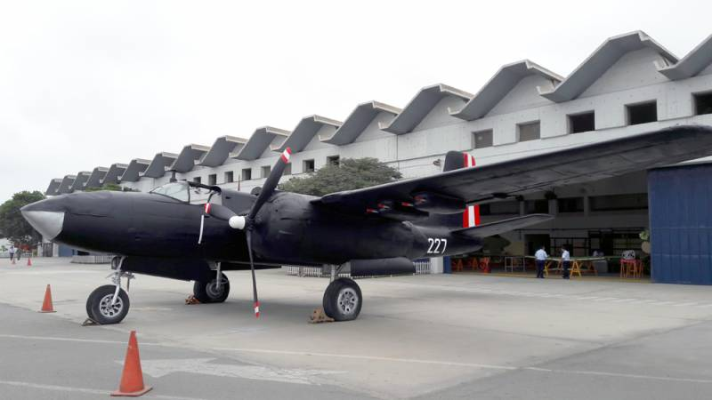 Посещение перуанского военного авиационного ремонтного завода SEMAN Perú SAC