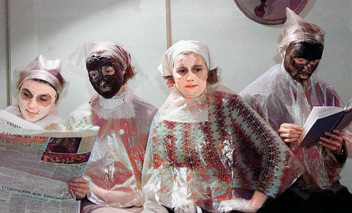 Как девушки ухаживали за собой в СССР: салоны красоты того времени