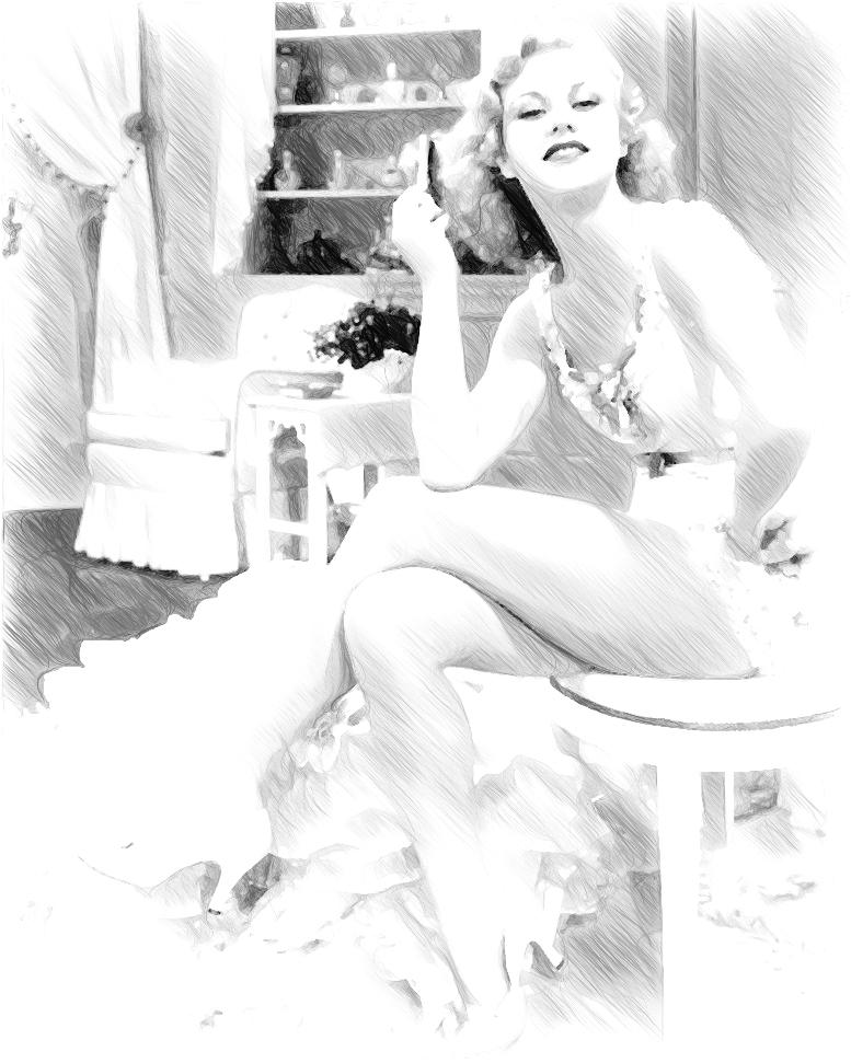 Фоторисовалка: Красотки
