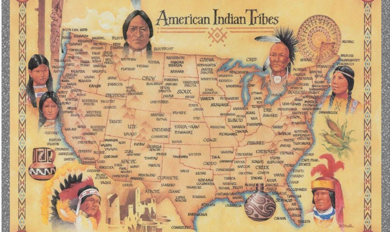 Геноцид индейцев англосаксон…