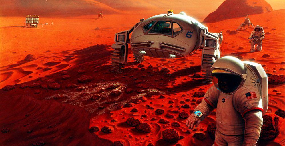 Плазменная технология позволит обеспечить будущие марсианские колонии кислородом