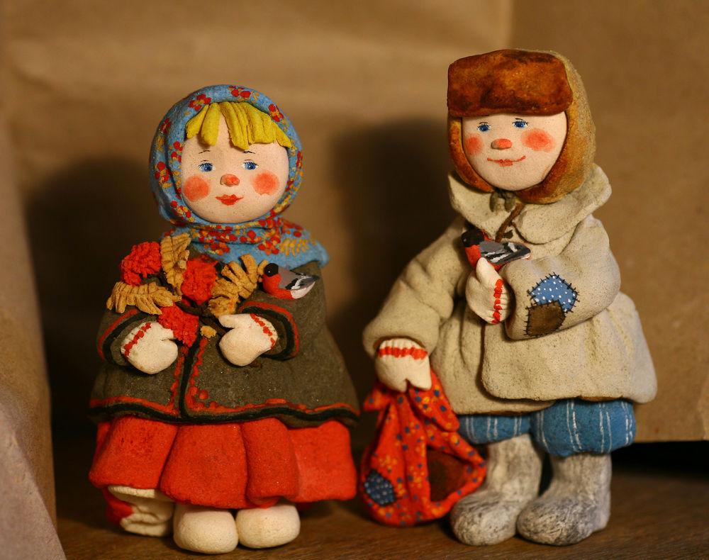 куклы из солёного теста