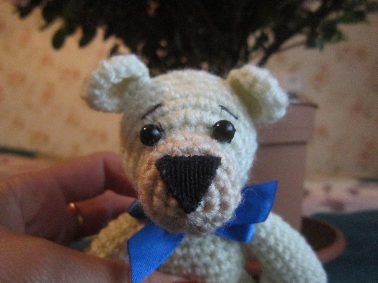 Мишка-малышка своими руками. Вязание игрушек для детей