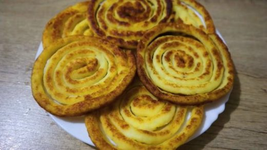 Очень вкусные картофельные лепешки