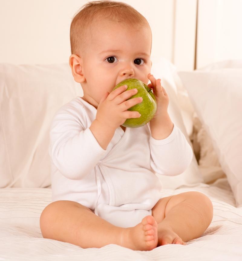 Можно ли давать ребенку в год твердую пищу