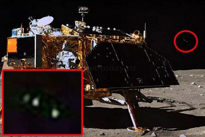 Теперь китайский луноход «Чанъэ-3» привлек внимание инопланетян