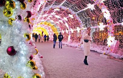 """Фестиваль """"Путешествие в Рождество"""" посетили 11 млн человек"""