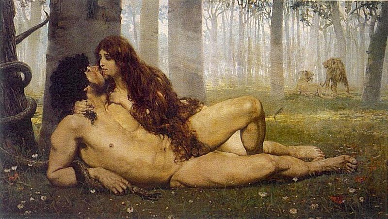 Адам и Ева - сладкая притча