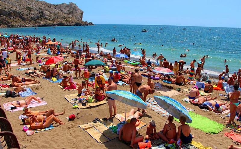 Пляжи судака фото в августе