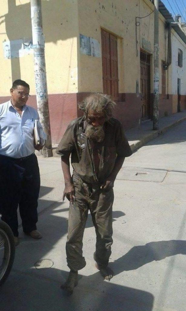 Он годами скитался по улицам без дома. Он не ожидал от этой жизни ничего, но появились небезразличные люди