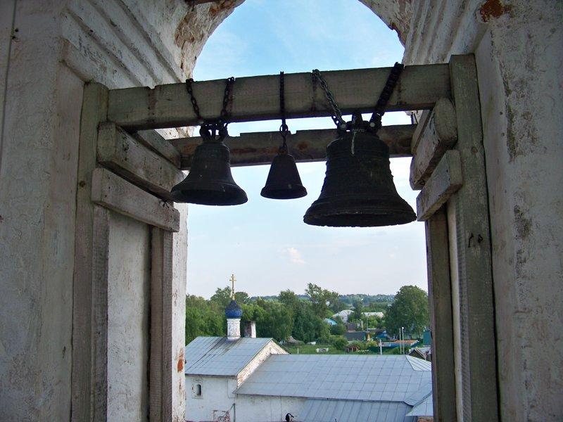 Вид из колокольни Города России, владимирская область, красивые места, пейзажи, путешествия, россия