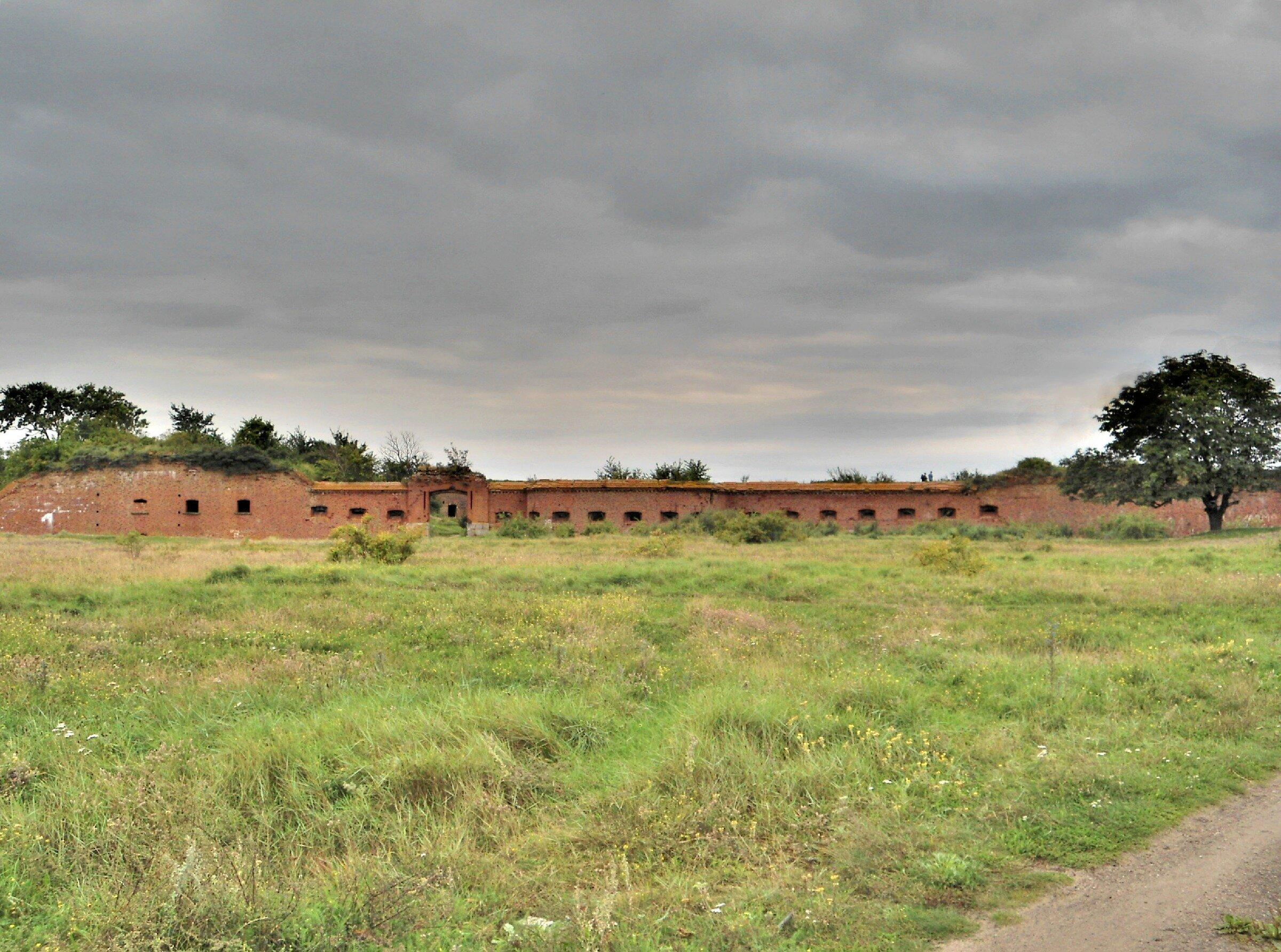 Форт Западный. Балтийская Коса