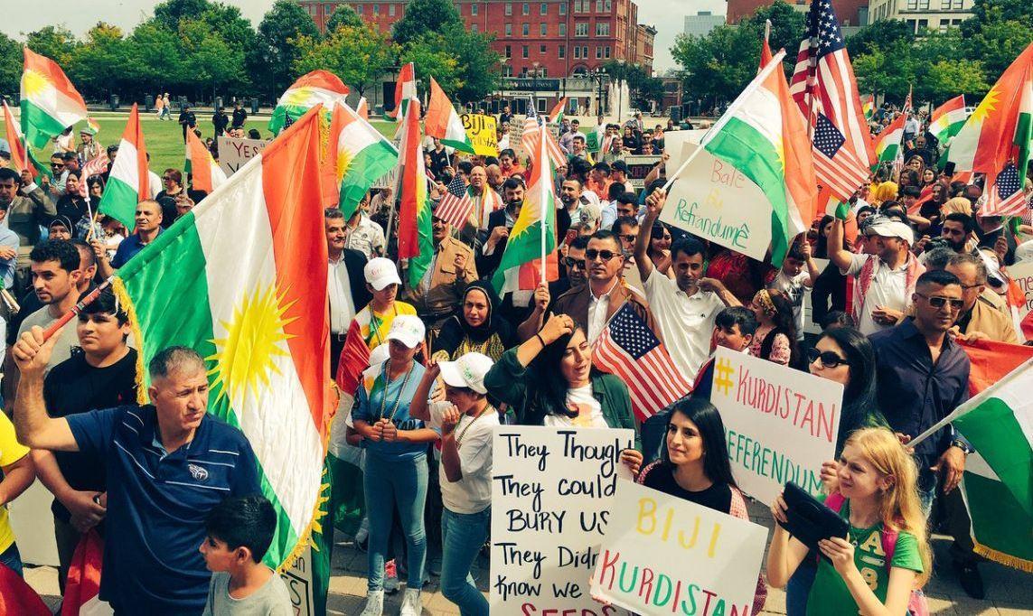 Курды проголосовали за независимость. От кого? Уж точно не от США и Израиля!