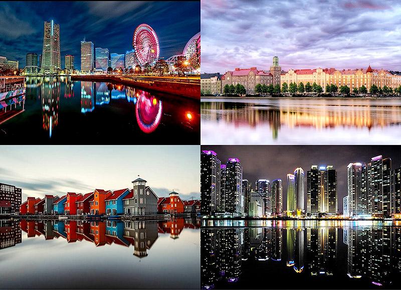 Урбанистическое Зазеркалье: Отражения мегаполисов