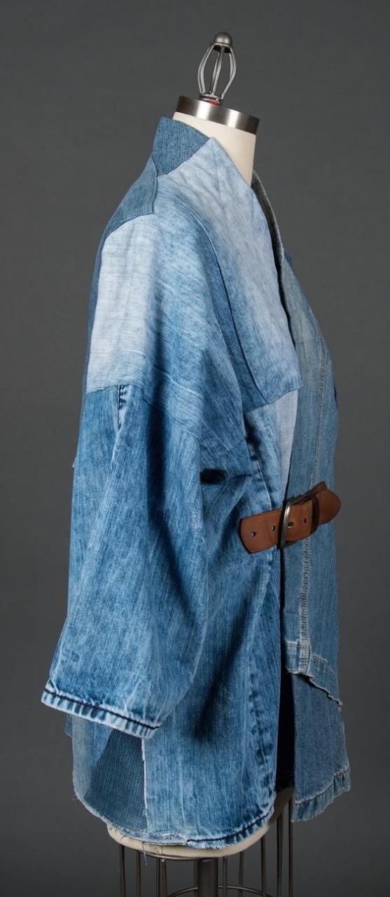 Переделываем старые джинсы