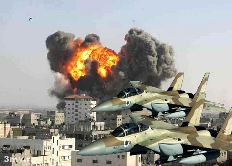 Израиль нанес новый удар по Сирии