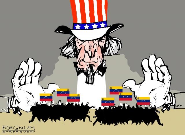 Кратко: США тырят венесуэльские деньги в иностранных банках