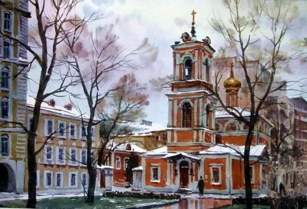 Акварельные пейзажи художника Ильи Горгоца, фото № 40