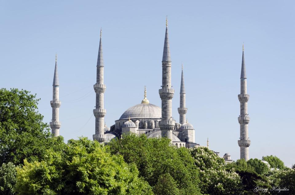 Прогулка по Стамбулу. Мечеть…