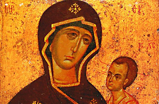 Тихвинская икона, заступница Руси