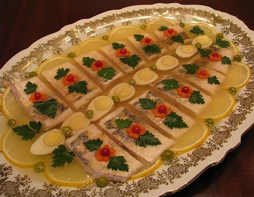 Рыбное заливное! (пошаговый рецепт)