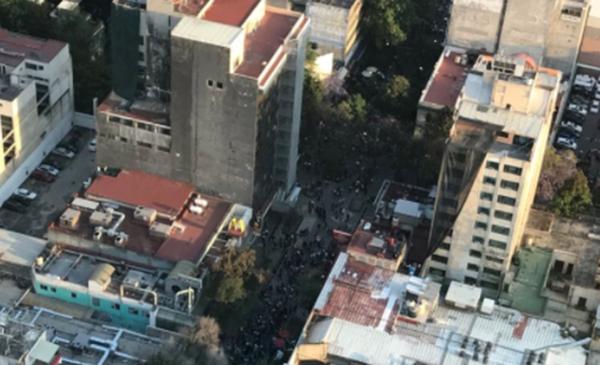 После мощного землетрясения вМексике произошло более 150 афтершоков