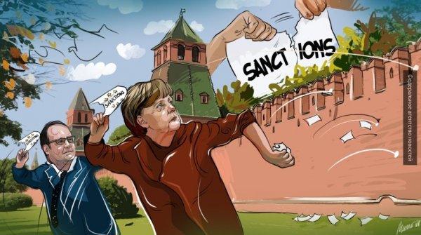 СМИ: немецкие компании пришли в раздражение от антироссийских санкций