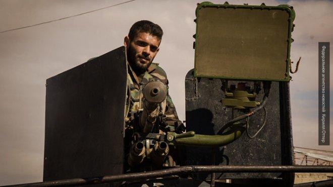 Удар по ИГ в Дамаске: атака ВВС Сирии и САУ Golan-1000 попала на видео