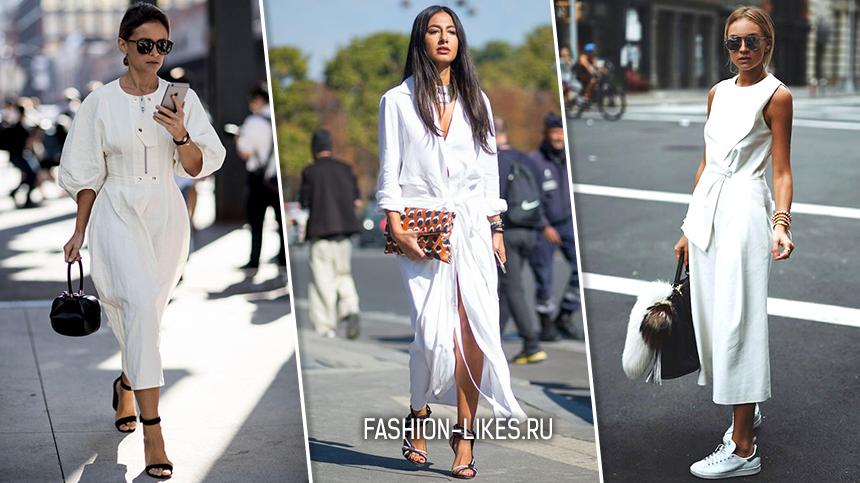 6 идеальных образов с белым платьем