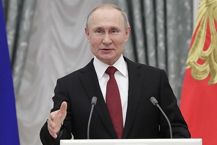 Путин: в России участились случаи масштабных и скоординированных кибератак