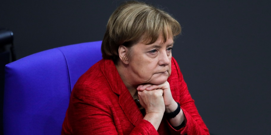 Меркель поставит Германию на колени