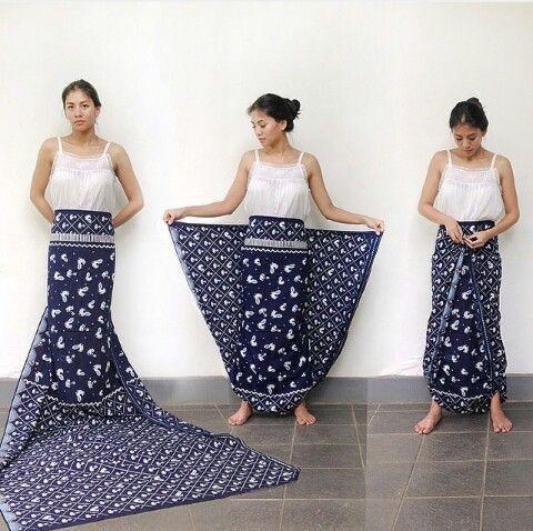 Одежда из платков (подборка)
