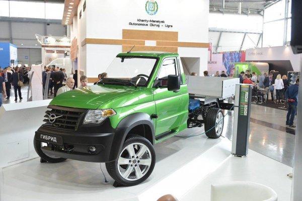 В России анонсировали гибридную версию нового УАЗ «Профи»