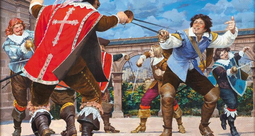 Настоящие мушкетеры: кем они были