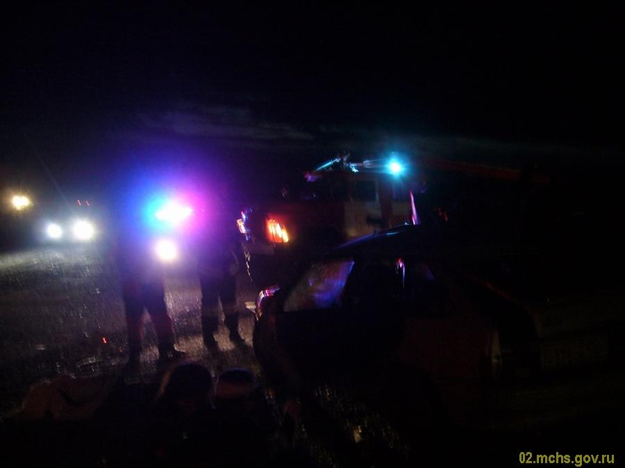 В Уфе в столкновении «Daewoo Nexia» и «Kia Rio» травмирован 5-месячный ребенок