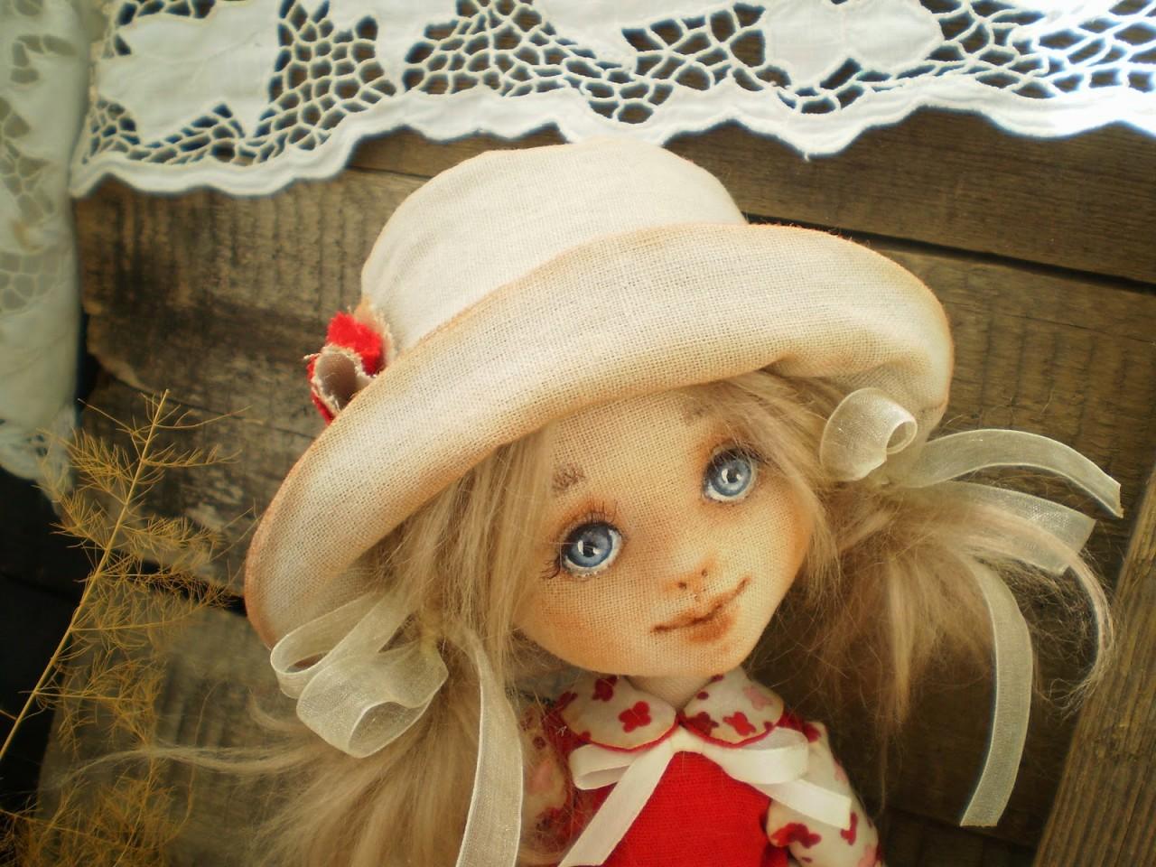 Текстильная кукла николь своими руками 97