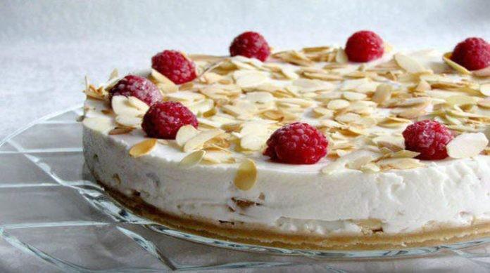 Торт из творога и йогурта. Вкусно и очень вкусно!