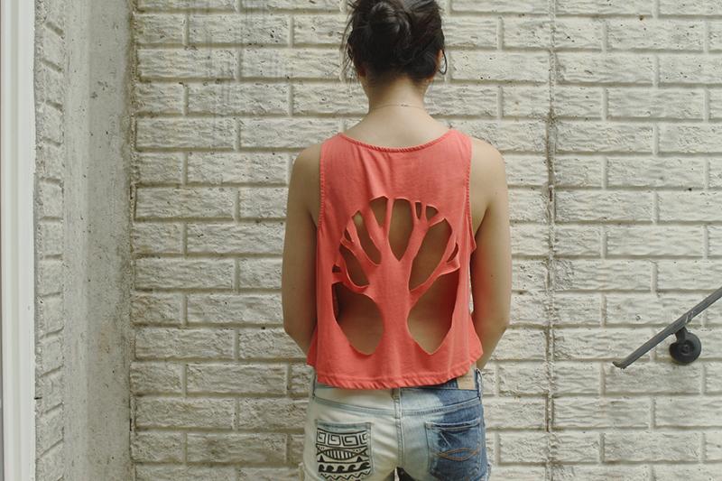 переделка старой футболки своими руками