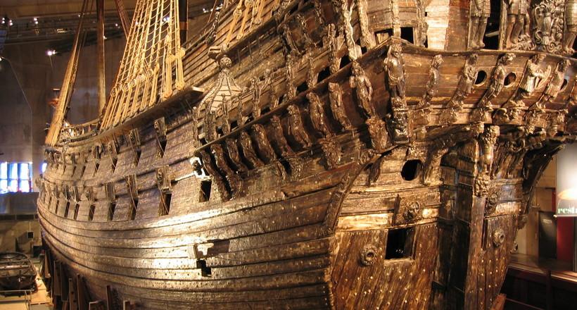 Шведские водолазы нашли обломки кораблей, похожих на знаменитое судно «Ваза»