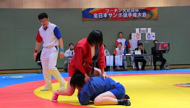 На чемпионате Японии по самбо на Кубок Путина определились победители