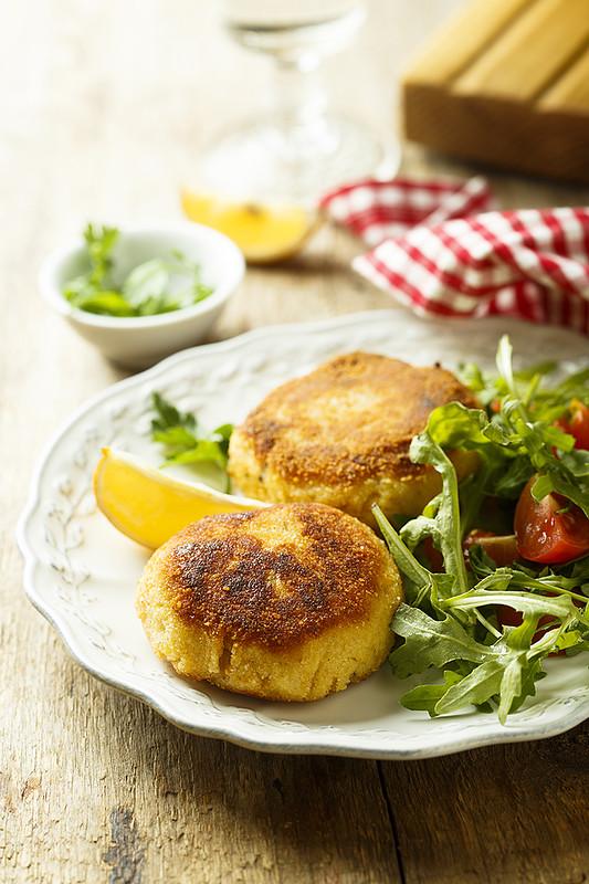 Картофельные зразы с грудинкой и сыром