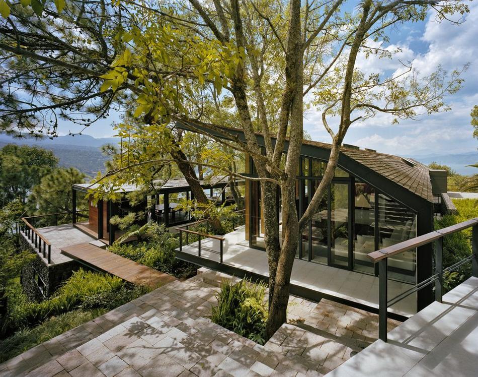 houseinwood10 Самые красивые дома в лесу