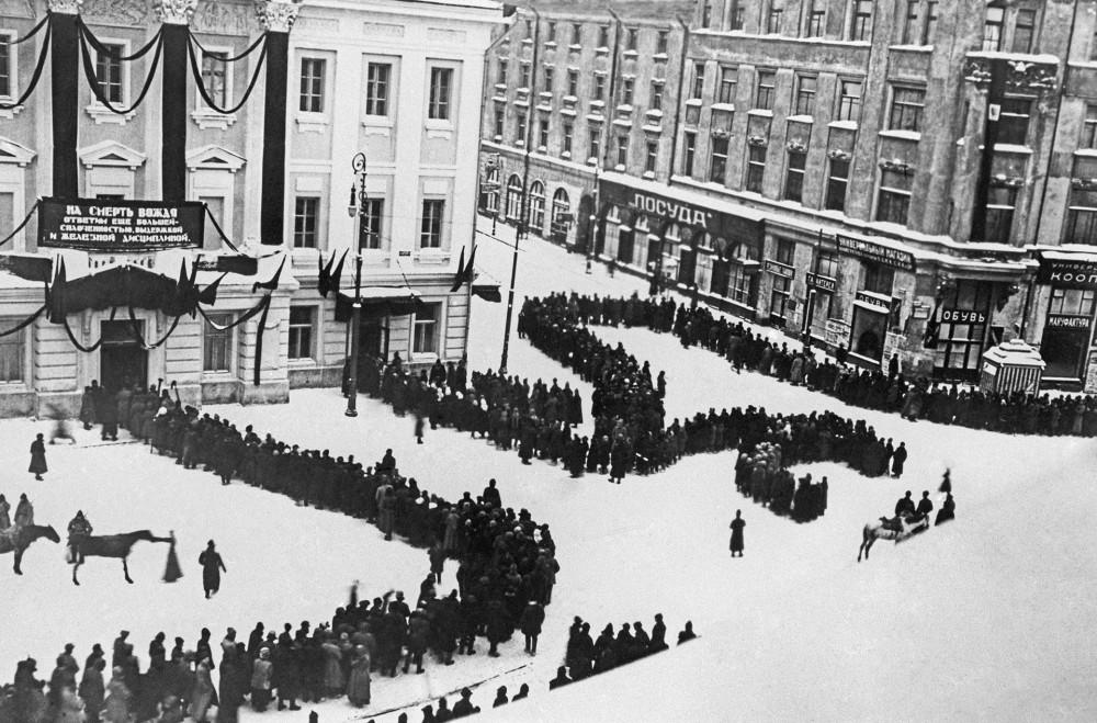 Тайны похорон В.Ленина