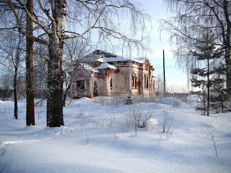 Старая церковь, под Кондопогой......