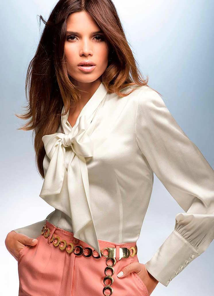 Модные женские блузки и рубашки нового сезона 2014
